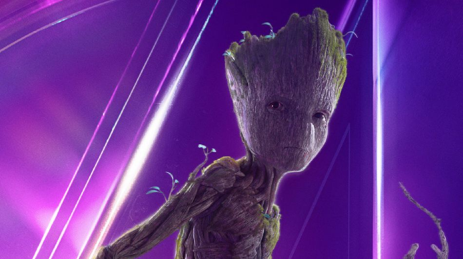 Baby Groot In Avengers Infinity War