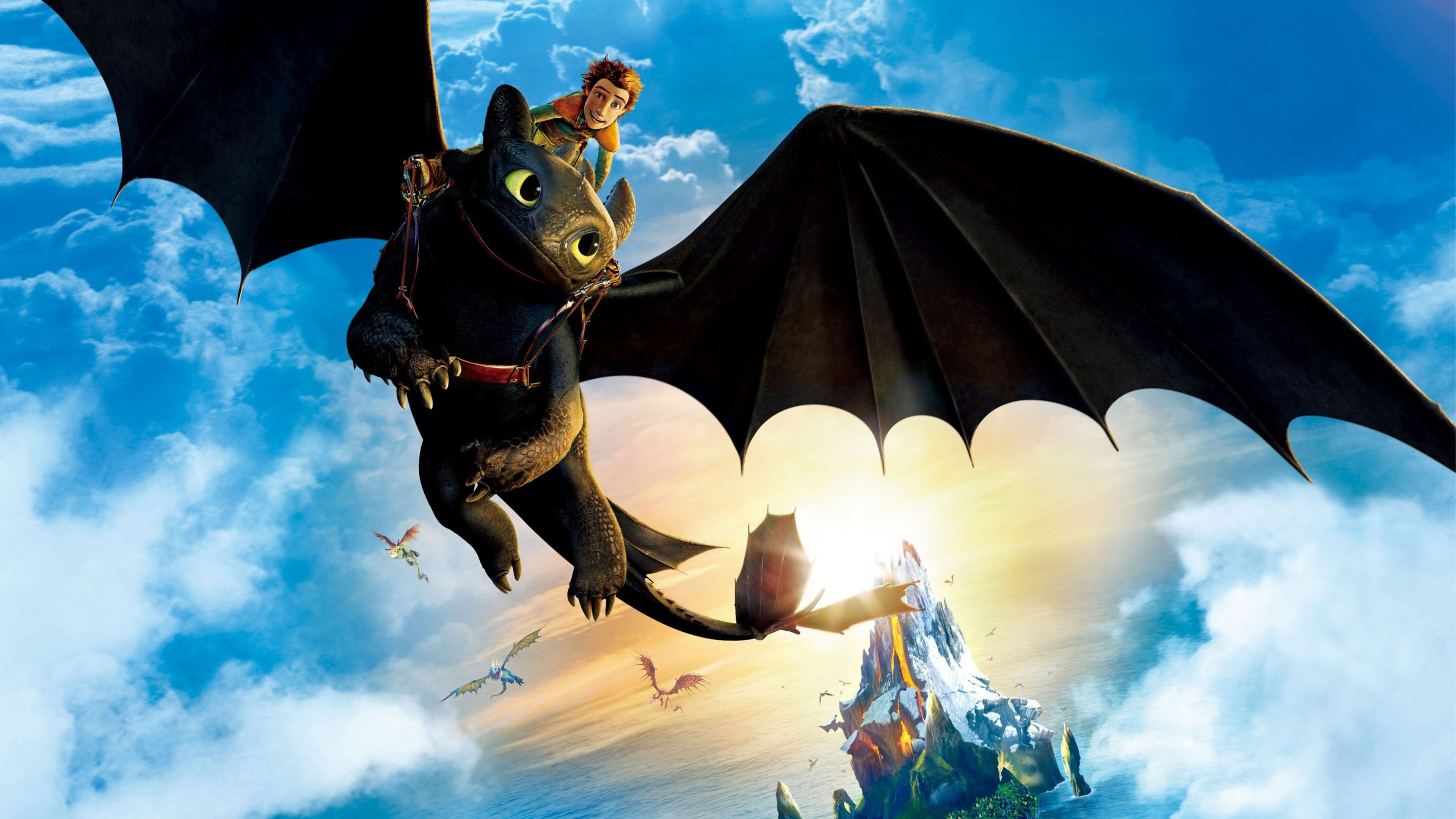 How To Train Your Dragon Hd Wallpaper 3840x2160 Gludy
