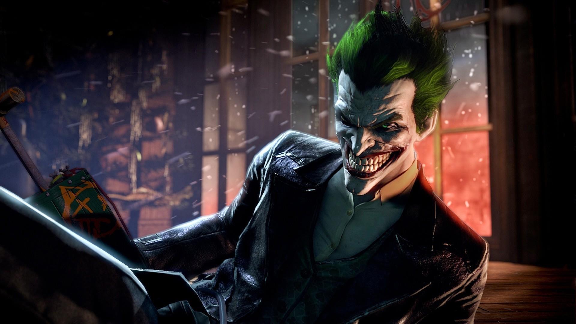 Joker Arkham Origins Hd Wallpaper