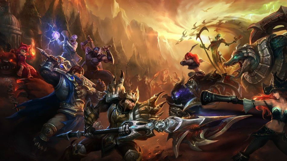 League of legends yayn tarihi
