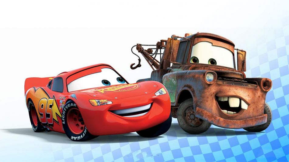 Lightning mcqueen and tow mater