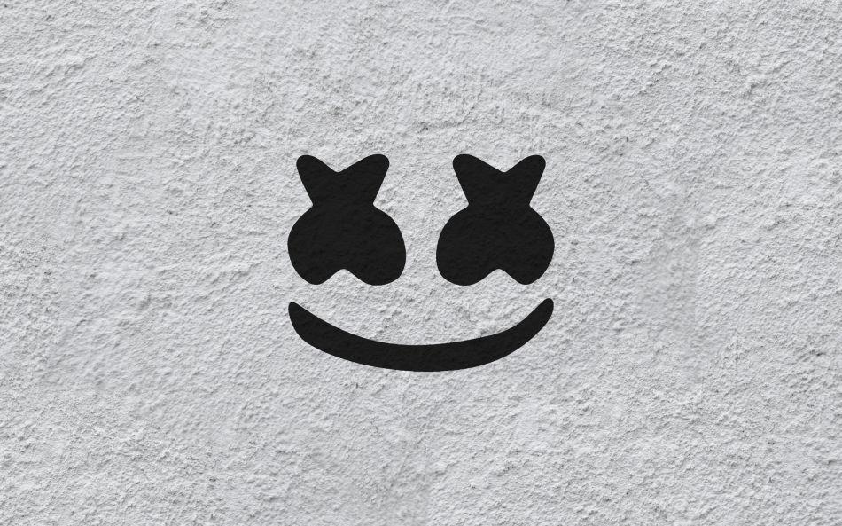 Marshmello Logo Hd Wallpaper 2560x1600 Gludy