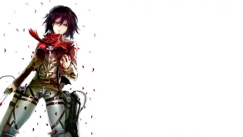 Mikasa Ackerman Shingeki No Kyojin Hd Wallpaper 1920x1080 Gludy
