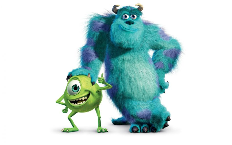 Monster inc mike and sulley