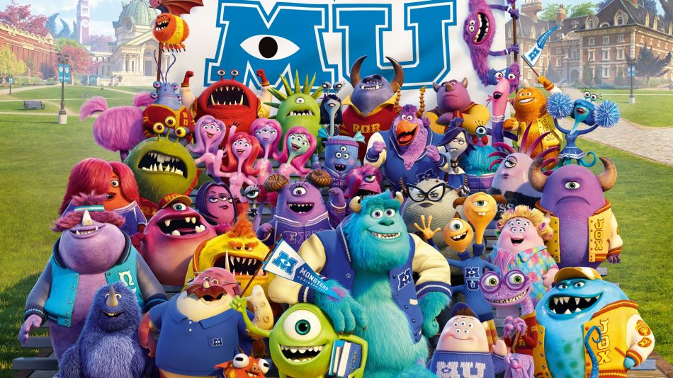 Monsters inc university characters