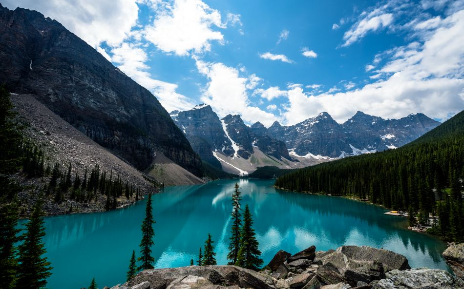 Moraine lake banff national park