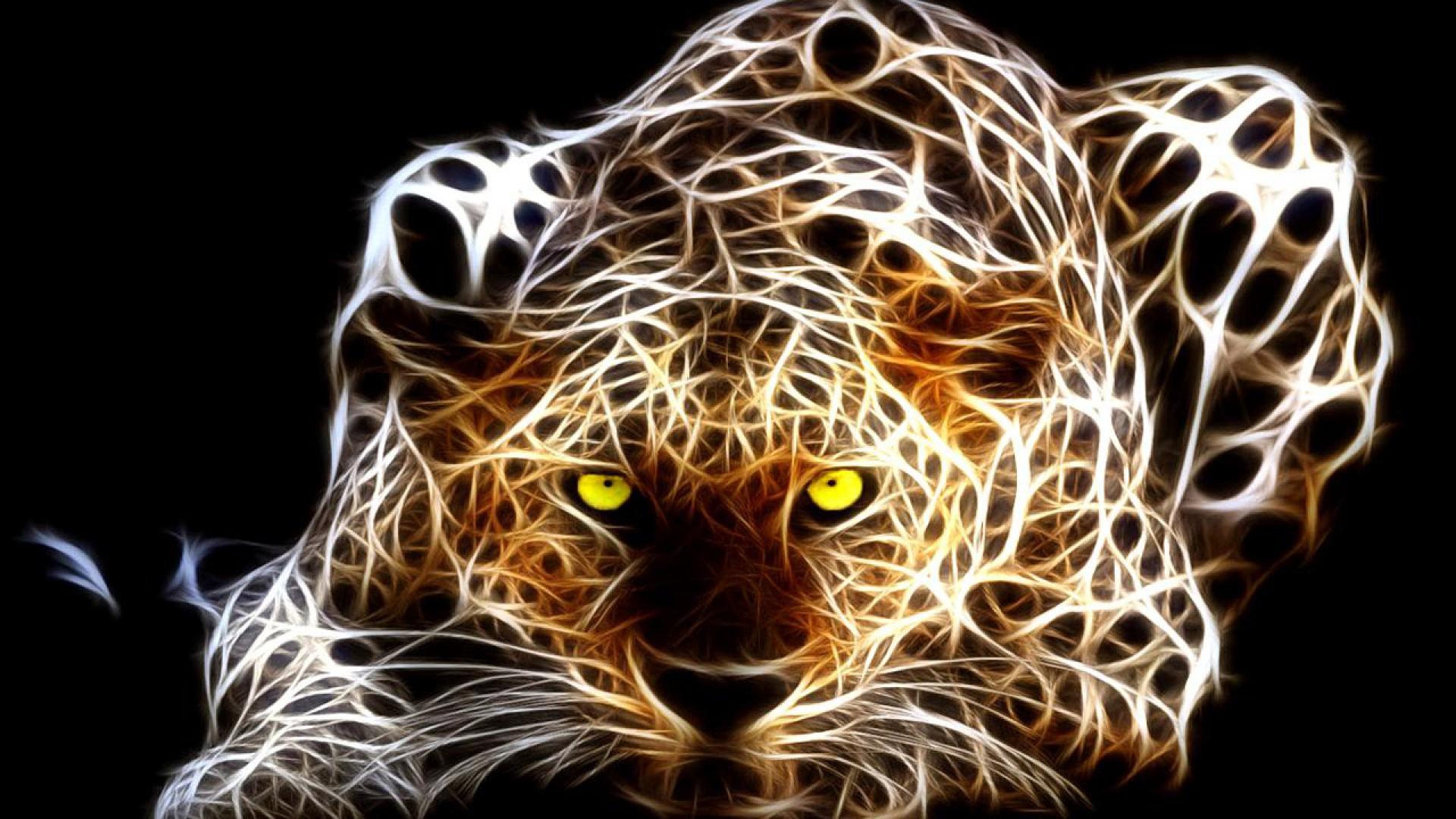 Neon Tiger Art Hd Wallpaper 1920x1080 Gludy