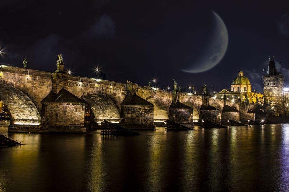 Charles bridge Prague hd wallpaper | 5184x3456 | Gludy