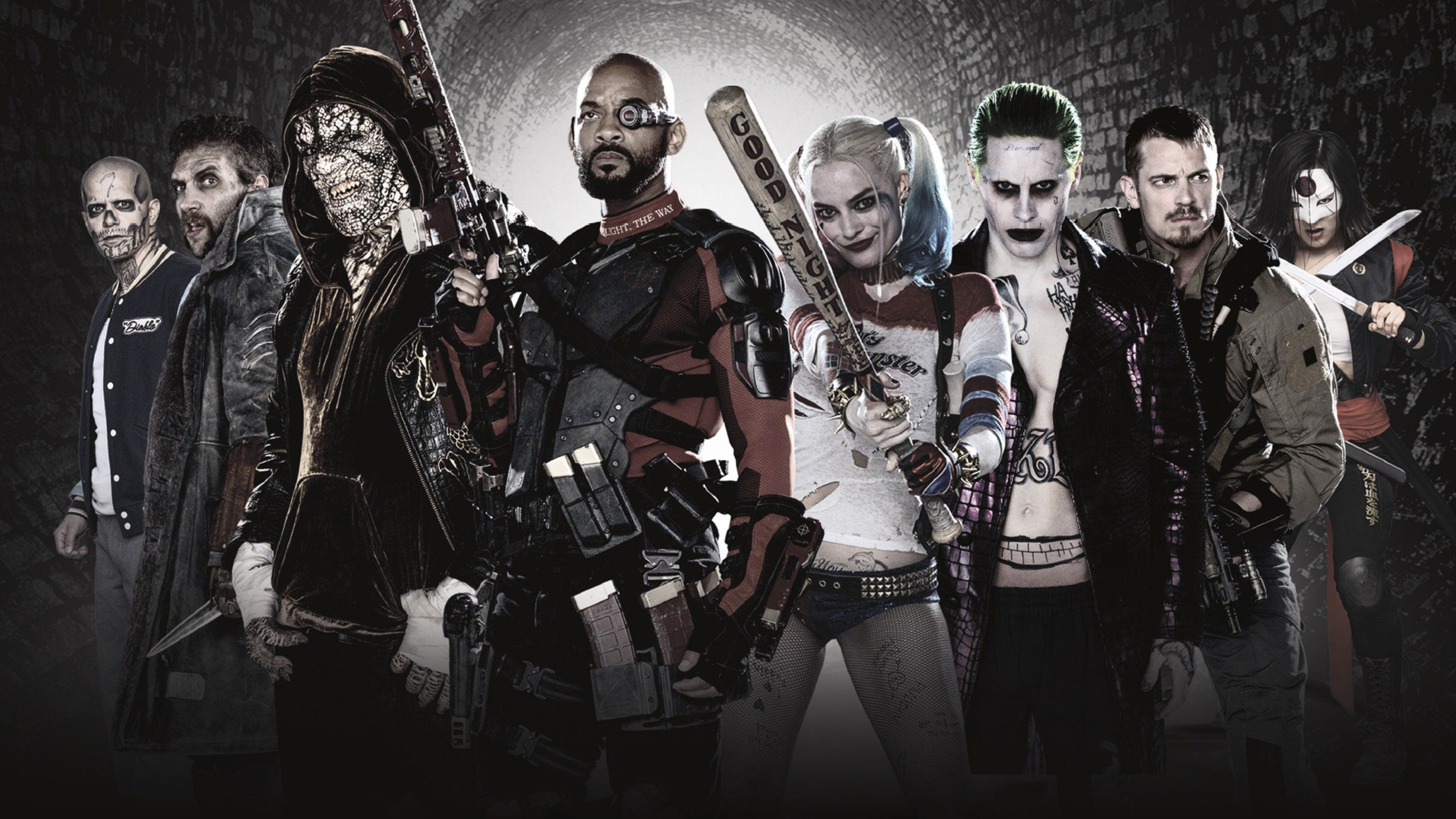 Suicide Squad Characters Hd Wallpaper 3840x2160 Gludy