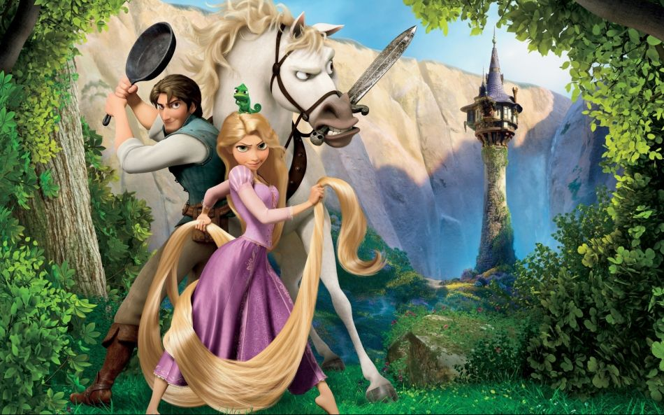 Tangled characters