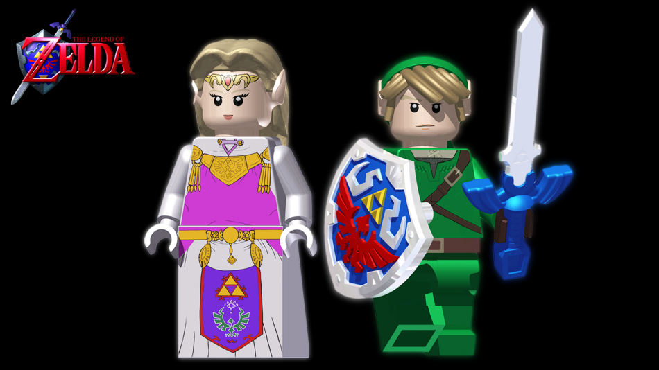 The legend of zelda lego
