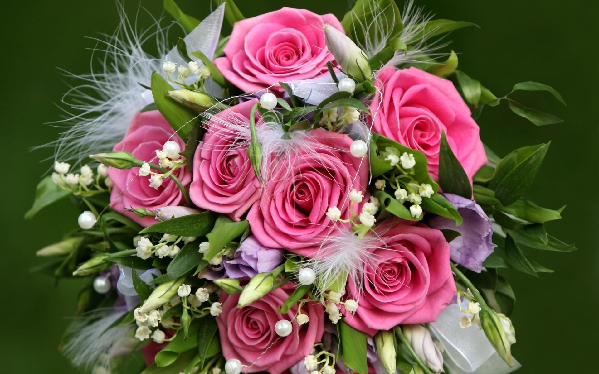Bouquet of roses hd wallpaper   1920x1200   Gludy