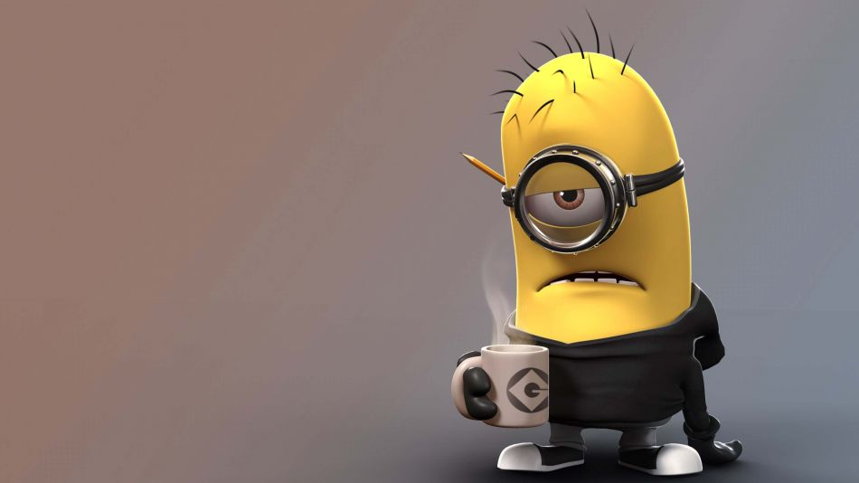 Despicable Me angry coffee