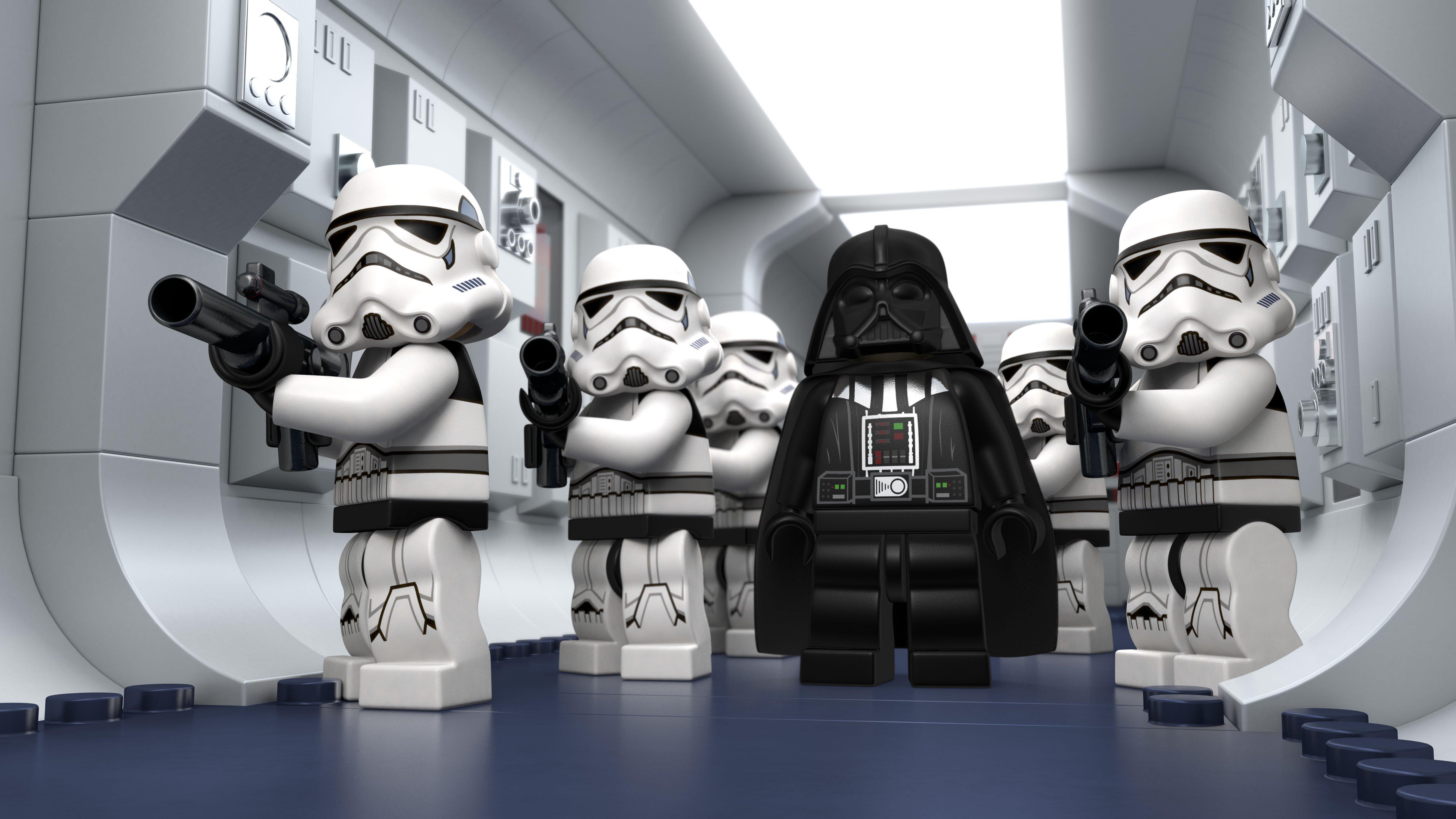 Lego Star Wars Stormtrooper Hd Wallpaper 5333x3000 Gludy