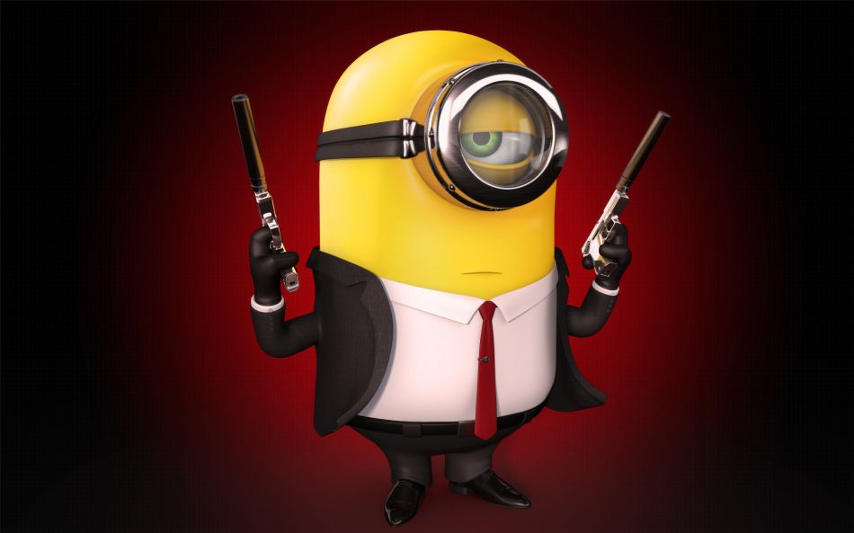 Minion the hitman