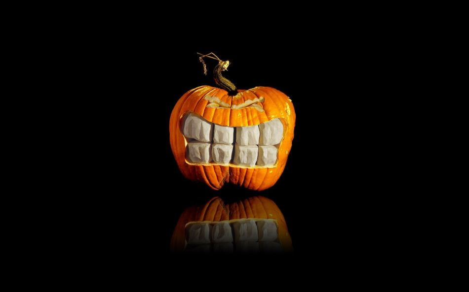 pumpkins teeth