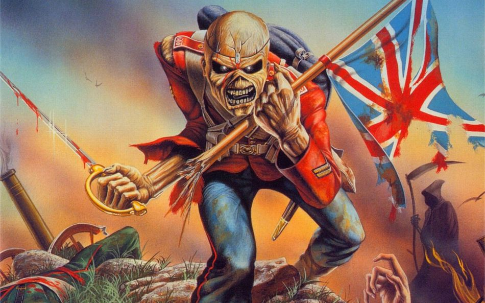 Iron maiden eddie the head