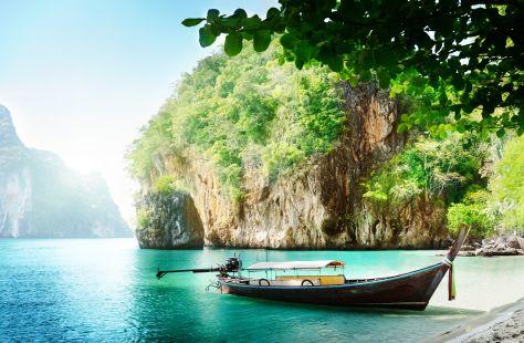 thailand boat wallpaper